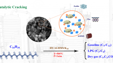کاتالیزور های فرآیند کراکینگ هیدروکربن های مدل برش های نفتی ارزیابی شد