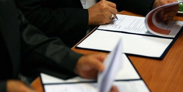 امضای سند محاسبات آمایشی نیروی انسانی دانشگاه های علوم پزشکی کشور