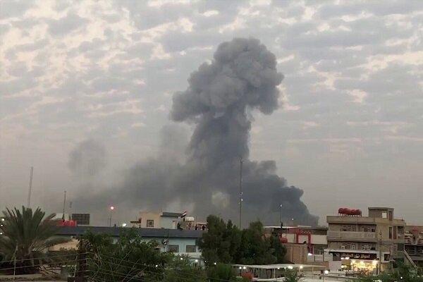انفجار در جهت خودروهای ائتلاف آمریکا در عراق